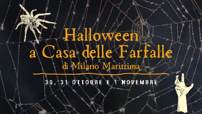 Halloween a Casa delle Farfalle di Milano Marittima